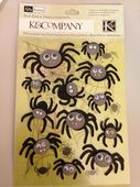 K&Company Rub-Ons & Embellishments - Halloween Spider - 30-622296